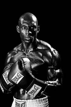 Val Black Russian Tourchin - Black Boxer in Black and White 05