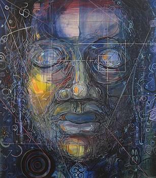 Black Buddha by David McKee