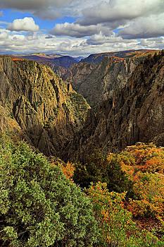 Black Canyon of the Gunnison - Colorful Colorado - Landscape by Jason Politte