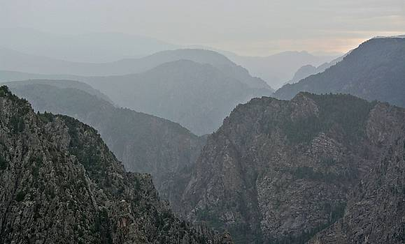 Black Canyon of the Gunnison in Colorado by Amy McDaniel
