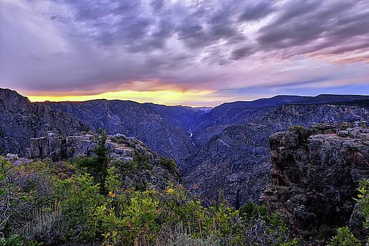 Black Canyon Sunset by Mark Whitt