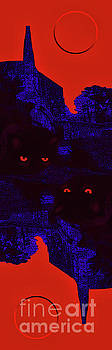 Jeff Breiman - Black Cat Under A Blood Red Moon