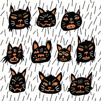 Black Cats by Nicole Wilson