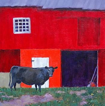 Black Cow by Philip Hewitt