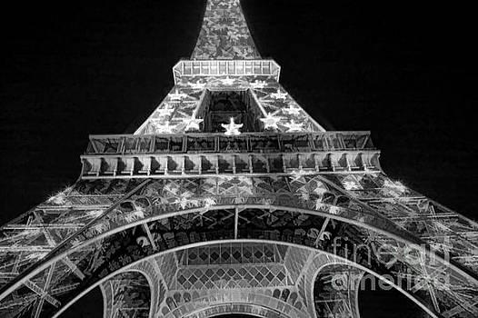 Chuck Kuhn - Black Eiffel Tower