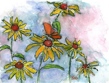 Black-eyed Susan and Guest by Bev Veals