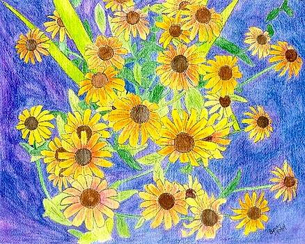 Black eyed susan by Margie  Byrne