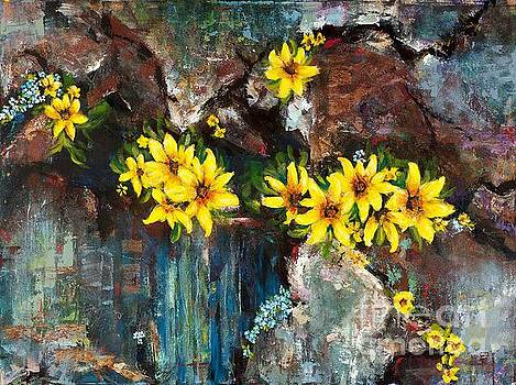Black-eyed Susans by Frances Marino