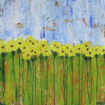 Black Eyed Susans Too by Diane Dean