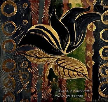 Rizwana A Mundewadi - Black Flower of Success