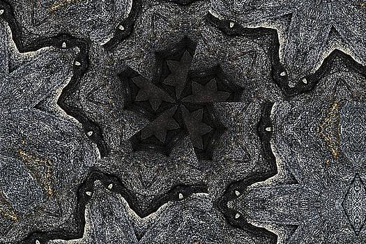 Black Granite Kaleido #2 by Peter J Sucy