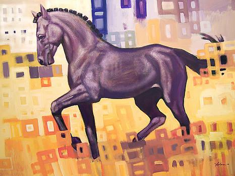 Black Horse by Farhan Abouassali