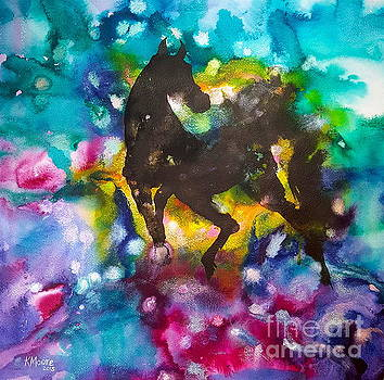Black Horse by Kristine Moore