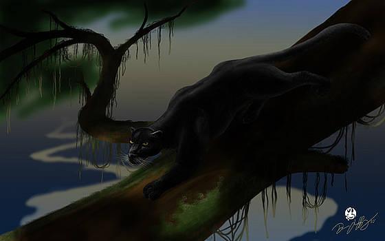 Black Jungle Panther by Devaron Jeffery