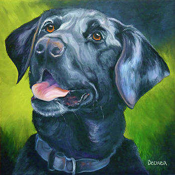 Black Lab Forever by Susan A Becker