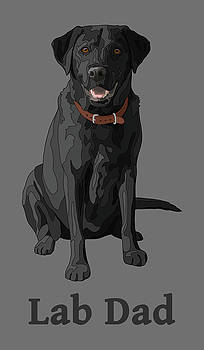 Crista Forest - Black Labrador Retriever Lab Dad
