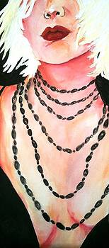 Black Necklace by Renee Kennedy