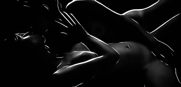 Black on White by Steve K