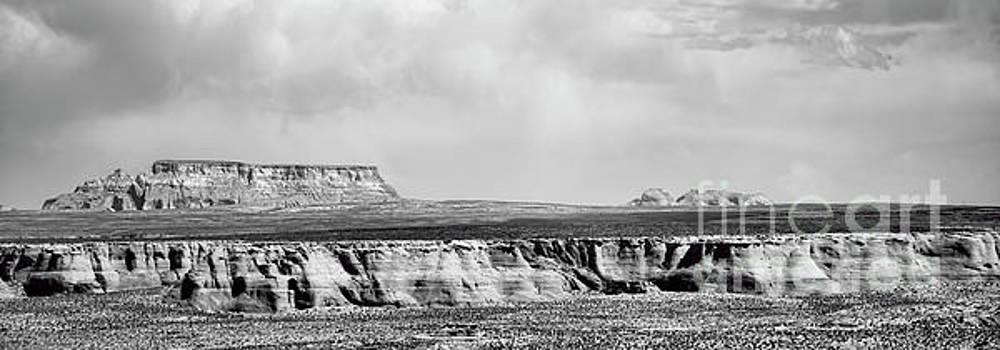 Chuck Kuhn - Black Panorama Southwest USA