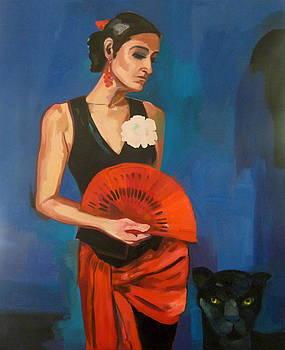 Black Panther by Carmen Stanescu Kutzelnig