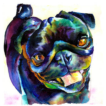 Christy  Freeman - Black Pug