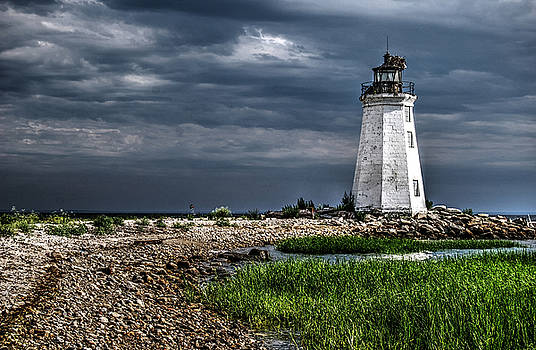 Black Rock Harbor Light CT by Guy Harnett