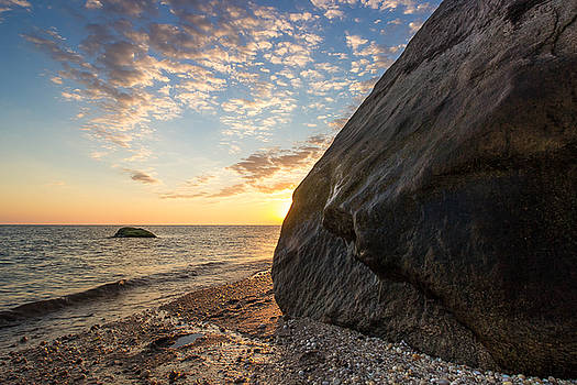 Black Rock Sunrise by Roderick Breem