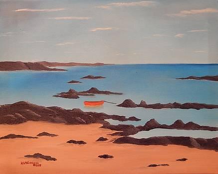 Black Rocks of Irelands Coast by William McCutcheon