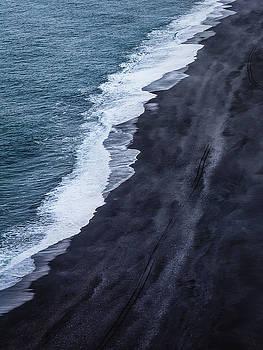 Black Sand Beach, Iceland by Dana Plourde