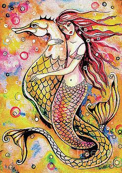 Black Sea Mermaid by Eva Campbell