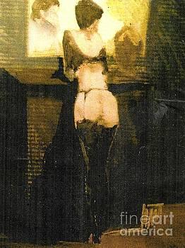 Black Stockings  by Harry WEISBURD