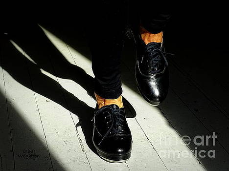 Black Tap Shoes by Lainie Wrightson