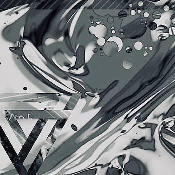 black white GEL  Art by Jack Eadon