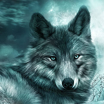Black Wolf by Carol Cavalaris