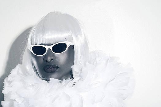 Stuart Brown - Black Woman with dark glasses.
