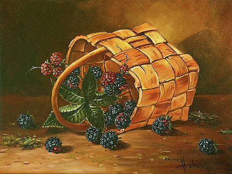 Blackberries by Dusan Vukovic