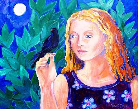 Blackbird singing in the dead of Night  by Trudi Doyle