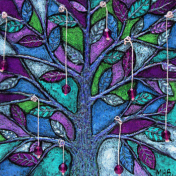 Blackcherry Tree by Margaret  Blanchett