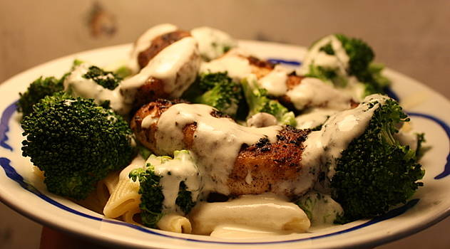 Anne Babineau - blackened chicken alfredo