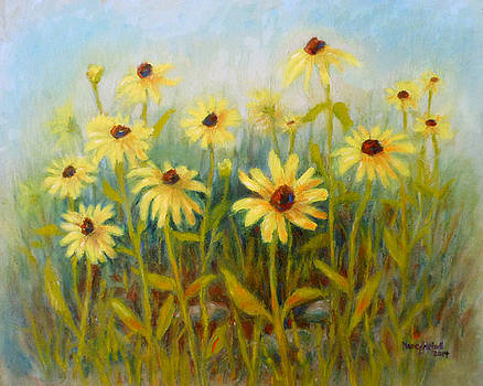 Blackeyed Susans by Nancy Heindl