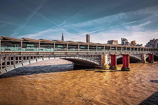 Blackfriars Bridge in London  by Marius Comanescu