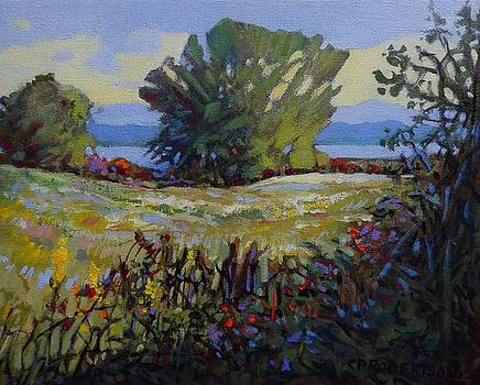 Blackie Spit Meadow, Late Summer by Catherine Robertson