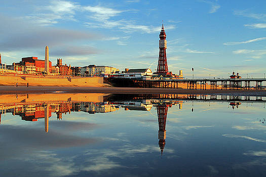 Blackpool Tower Reflection by David Chennell