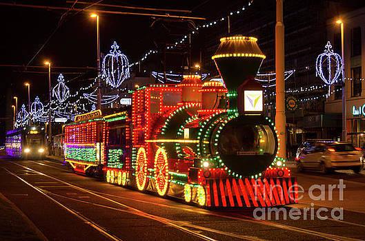 Blackpool tram by Steev Stamford