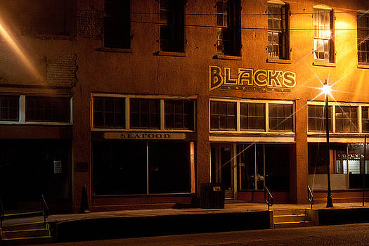 Black's Seafood Restaurant in Color by Erik Hovind