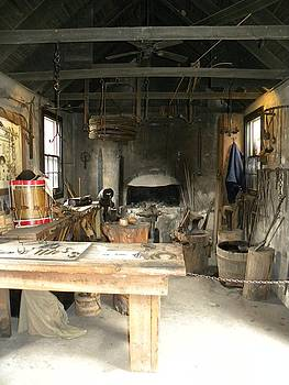 Blacksmith by Kim Zwick
