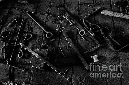 Blacksmith's Tools by Scott Parker