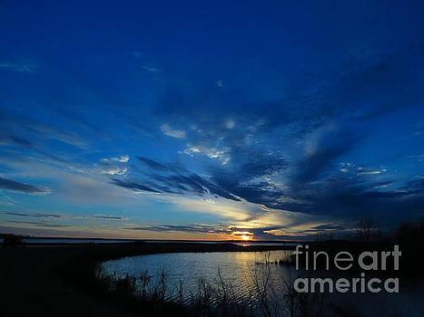 Blackwater sunset two by Rrrose Pix