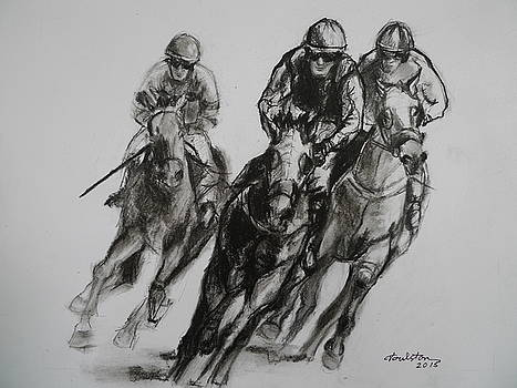 Three in Front by Veronica Coulston