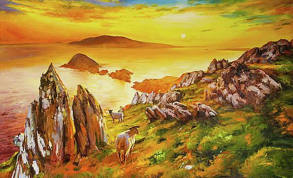 Blasket Islands, County Kerry by Conor McGuire